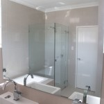 Bathroom Polished Edge Mirror Glue Mount Applecross - Glass100