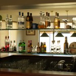 Bar Mirror - Glass Shelves - Glass100