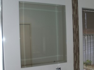 Bevelled Mounted Mirrors - Glass 100