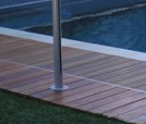 Semi Framed Glass Pool Fencing - Glass100